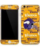 Minnesota Vikings - Blast iPhone 6/6s Skin