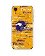 Minnesota Vikings - Blast iPhone XR Skin