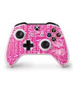 Minnesota Vikings - Blast Pink Xbox One S Controller Skin