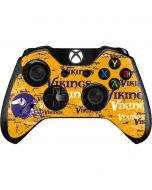 Minnesota Vikings - Blast Xbox One Controller Skin
