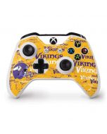 Minnesota Vikings - Blast Xbox One S Controller Skin