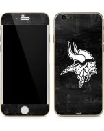 Minnesota Vikings Black & White iPhone 6/6s Skin