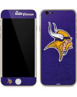 Minnesota Vikings Distressed iPhone 6/6s Skin