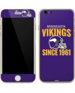Minnesota Vikings Helmet iPhone 6/6s Skin