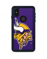 Minnesota Vikings Large Logo iPhone X Waterproof Case