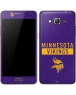 Minnesota Vikings Purple Performance Series Galaxy Grand Prime Skin
