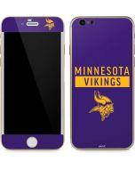 Minnesota Vikings Purple Performance Series iPhone 6/6s Skin