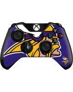 Minnesota Vikings Retro Logo Xbox One Controller Skin