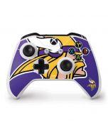 Minnesota Vikings Retro Logo Xbox One S Controller Skin