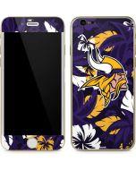 Minnesota Vikings Tropical Print iPhone 6/6s Skin