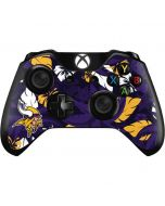 Minnesota Vikings Tropical Print Xbox One Controller Skin