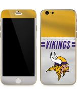 Minnesota Vikings White Striped iPhone 6/6s Skin