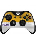 Minnesota Vikings White Striped Xbox One Controller Skin
