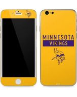 Minnesota Vikings Yellow Performance Series iPhone 6/6s Skin