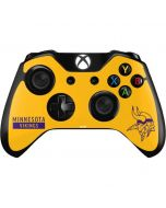 Minnesota Vikings Yellow Performance Series Xbox One Controller Skin