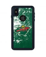 Minnesota Wild Frozen iPhone X Waterproof Case