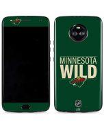 Minnesota Wild Lineup Moto X4 Skin