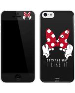 Minnie Mouse Dots The Way iPhone 5c Skin