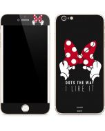 Minnie Mouse Dots The Way iPhone 6/6s Plus Skin