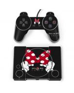 Minnie Mouse Dots The Way PlayStation Classic Bundle Skin
