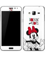 Minnie Mouse Rockin My Dots Galaxy J3 Skin