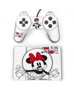 Minnie Mouse Rockin My Dots PlayStation Classic Bundle Skin
