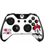 Minnie Mouse Rockin My Dots Xbox One Controller Skin