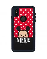 Minnie Mouse Tsum Tsum iPhone XS Waterproof Case
