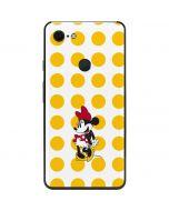 Minnie Mouse Yellow Dots Google Pixel 3 XL Skin