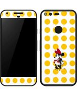 Minnie Mouse Yellow Dots Google Pixel Skin