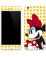 Minnie Mouse Yellow Dots iPhone 6/6s Plus Skin