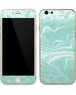 Mint Marbling iPhone 6/6s Skin