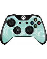 Mint Marbling Xbox One Controller Skin