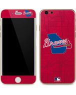 Atlanta Braves Home Turf iPhone 6/6s Skin