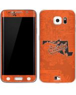 Baltimore Orioles Home Turf Galaxy S6 Edge Skin
