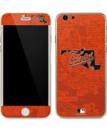 Baltimore Orioles Home Turf iPhone 6/6s Skin
