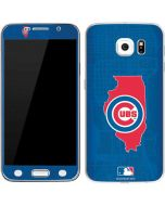 Chicago Cubs Home Turf Galaxy S6 Skin