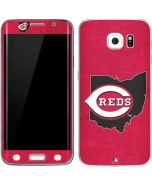 Cincinnati Reds Home Turf Galaxy S6 Edge Skin
