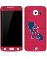 Los Angeles Angels Home Turf Galaxy S6 Edge Skin