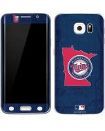 Minnesota Twins Home Turf Galaxy S6 Edge Skin