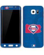 Philadelphia Phillies Home Turf Galaxy S6 Edge Skin