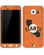 San Francisco Giants Home Turf Galaxy S6 Edge Skin
