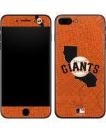 San Francisco Giants Home Turf iPhone 8 Plus Skin