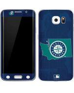 Seattle Mariners Home Turf Galaxy S6 Edge Skin