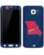 St. Louis Cardinals Home Turf Galaxy S6 Edge Skin
