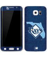 Tampa Bay Rays Home Turf Galaxy S6 Edge Skin