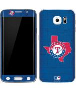 Texas Rangers Home Turf Galaxy S6 Edge Skin