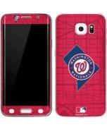 Washington Nationals Home Turf Galaxy S6 Edge Skin