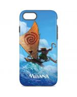 Moana and Maui Ride the Wave iPhone 8 Pro Case