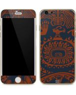 Moana Octopus Tropical Print iPhone 6/6s Skin